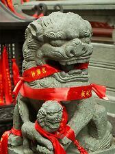 Fotografia Moderna paesaggio culturale CHINESE LION STATUA FOO DOG POSTER bb3142a