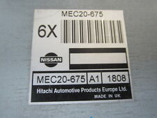 GENUINE NISSAN PULSAR HATCH N16 S1 ECU