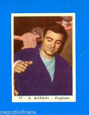 A145 GIRANDOLA DI SUCCESSI -SADA 1958- Figurina-Sticker n. 77 - S. BURGHI