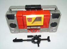 Blaster WORKS * 100% Complete 1985 Vintage G1 Transformers Boombox Action Figure