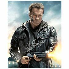 Arnold Schwarzenegger Autographed Terminator Genisys™ T800 8x10 Photo