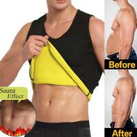 Men's Waist Trainer Vest Sauna Sweat Body Shapers Tank Top Slimming Thermo Shirt