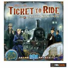 NEW BUT UNSEALED United Kingdom + Pennsylvania Expansion for Ticket To Ride Game