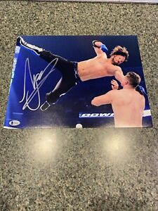 AJ Styles Signed 11 x 14 Beckett Certified - WWE NXT AEW NWA Impact