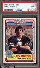 1984 Topps USFL Football #52 Steve Young RC Rookie HOF PSA 9 MINT