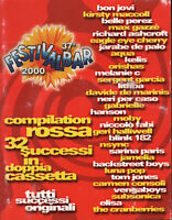 2 CASSETTA Festivalbar 2000 Compilation Rossa SEALED