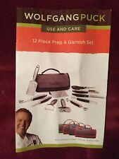 Wolfgang Puck 12 Piece Garnish Kitchen Prep Set