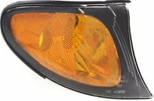 BMW E46 Genuine Front Right Turn Signal Light With Yellow Lens and Black Trim