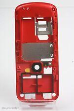 original Nokia 5230 xpress music Mittel gehäuse rot cover red gehäuse schale