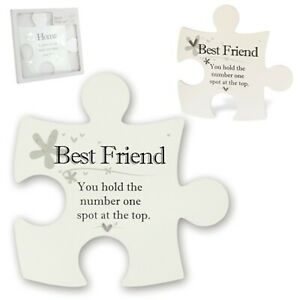Said with Sentiment Jigsaw Wall Art Various designs friends Family Pets Mum
