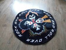 More details for kiss rock and roll over circular mat