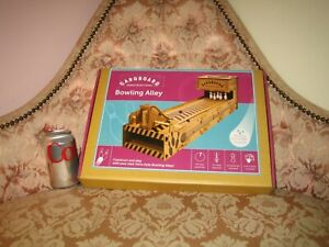 BUILD Make YOUR OWN BOWLING ALLEY Cardboard Construction Kit - NEW