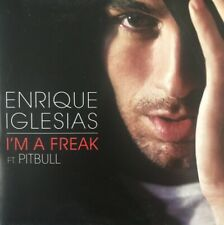 ENRIQUE IGLESIAS - I'M A FREAK ft PITBULL - RARE PROMOTIONAL CD SINGLE