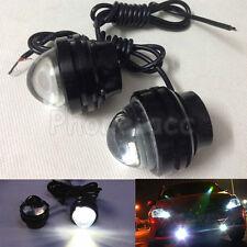 2pcs 15W LED Car Headlight DRL Daytime Running Light Driving Day Fog Head Lamp