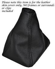 FITS HONDA CRV 2002-2006 BLACK LEATHER NEW GEAR GAITER SHIFT BOOT DOUBLE STITCH