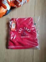 NEW RRP£34.99 XL SIZE 16 WOMENS SUPERDRY  TRACKSTER SHORTS RICH SCARLET RED BNWT