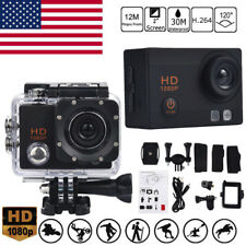 Waterproof Camera HD 1080P Sport Action Camera DVR Cam DV Video Camcorder BK USA