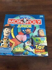 Monopoly Junior TOY STORY Disney Pixar Board game  complete