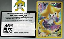 Jirachi Pokemon Mythical Collection Promo XY112 +  Matching Pin + Online Code