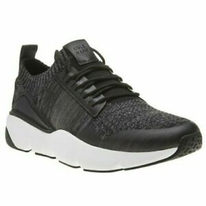 New MENS COLE HAAN BLACK ZEROGRAND ALL-DAY TEXTILE Sneakers Running Style