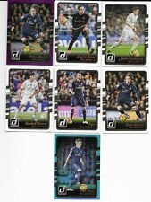 REAL MADRID x 7 Donruss 2016 (Panini) Football Trading Cards MINT