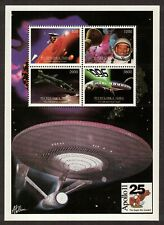 Tuva - Rep. of URSS _ Space & Apollo 11 _2x Souvenir Sheet with 4 Stamps -MNH**