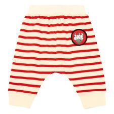 STELLA MCCARTNEY Pudding Badge Striped Harem Trousers Red - 24 Months - BNWT