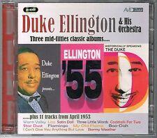 DUKE ELLINGTON - 2 x CD - THREE MID-FIFTIES CLASSIC ALBUMS + 11 TRACKS... TBE