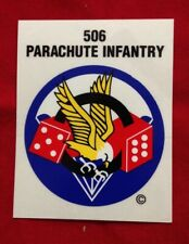 101st Airborne 506th Parachute Infantry Decal