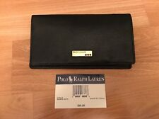 NWT** Polo Ralph Lauren Black leather Wallet