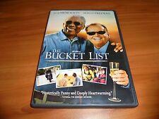 The Bucket List (DVD, 2007 Widescreen/Full) Jack Nicholson,Morgan Freeman Used