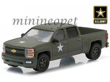 Greenlight 29834 Hobby Exclusive Us Army Lssv 2015 Chevrolet Silverado 1/64