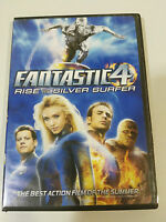 FANTASTIC 4 RISE OF THE SILVER SURFER DVD + EXTRAS ENGLISH ESPAÑOL REGION 1