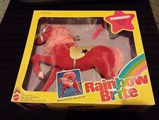 Rare Lot Vintage Huge Rainbow Brite Tickled Pink'S Horse Sunriser Mib Nrfb