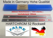 Hobelmesser inflexión cuchillo Elektra beckum Metabo Güde scheppach 1 par de 260 mm