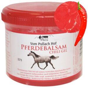 Pferdebalsam Chili Gel Pferdegel Pferdesalbe Wärmend Vom Pullach Hof 500ml
