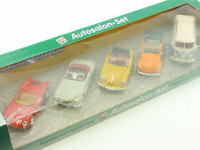 Cararama 520 Kidz Only Autosalon-Set VW T1 Käfer Porsche 356 550 OVP 1412-06-02