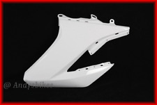 YAMAHA WR125 WR125X WR125R LEFT RADIATOR SIDE PANEL COVER FAIRING SCOOP - WHITE