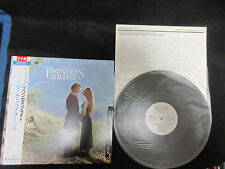 OST Princess Bride Music by Mark Knopfler Japan Promo Vinyl LP OBI Dire Straits