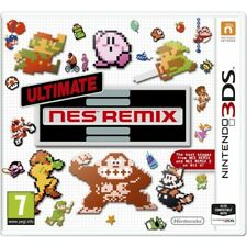Ultimate Nes Remix Nintendo 3ds Game &