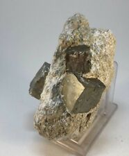 PIRITA - Pyrite - Navajun, La Rioja España - SPAIN MINERAL COLECCION 8x5x4