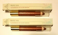 Lot of 2 Mary Kay Waterproof Lip Color Crayon SOPHISTICATED SIENNA (0887)