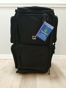 """Travelpro """"The Original"""" 7 Pocket Rolling Duffel Bag, Black, New with Tags"""