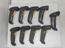 Lot Of 9 Symbol LS2208-SR0007R Handheld Barcode Scanner *No Cable*
