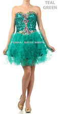 CORSET SHORT PROM DRESS FORMAL COCKTAIL DANCE PARTY PAGEANT SWEET 16 HOMECOMING