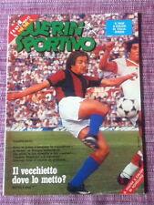 GUERIN SPORTIVO n. 40 anno 1979 con poster novellino - italia svezia