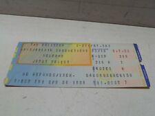 Vintage Original 1984 Judas Priest Ticket Stub Ohio Richfield Coliseum Great Whi