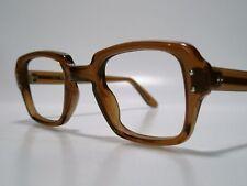 Retro Vintage NOS Sun/ Eyeglasses Frame USGI Issue BCG's USS Brown 46-26 Medium