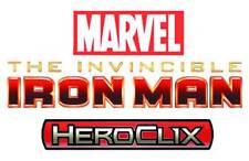 Marvel Heroclix Invincible Iron Man Op Kit - 9 Figures 6 Objects 10 Maps