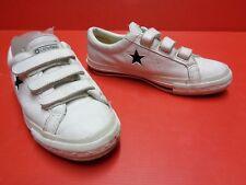 Converse Chucks All Star Leder low weiß Gr.36 Nr.20 unisex